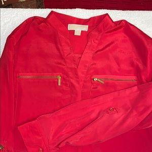 Michael Kors coral color dress shirt